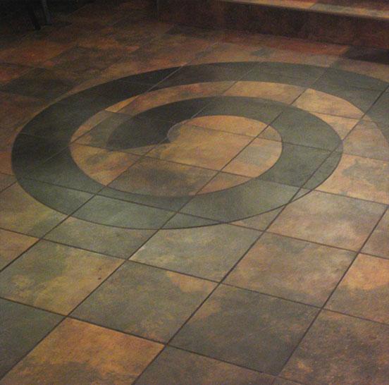Керамическая плитка в помещение