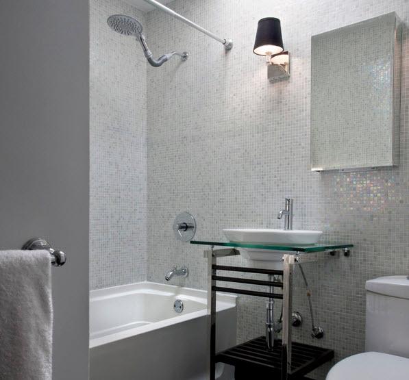 Плика в ванной комнате