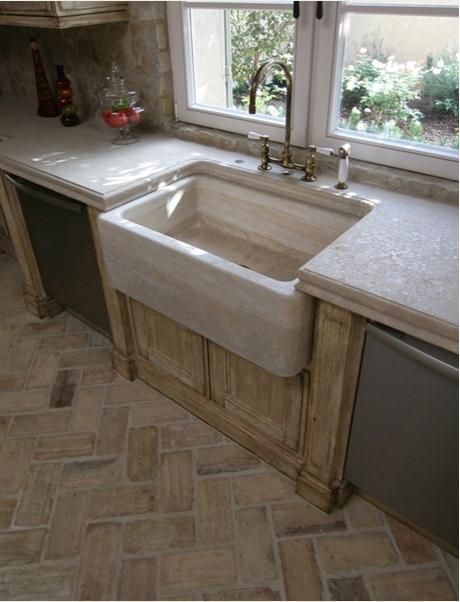 Терракотовая плитка в ванной комнате