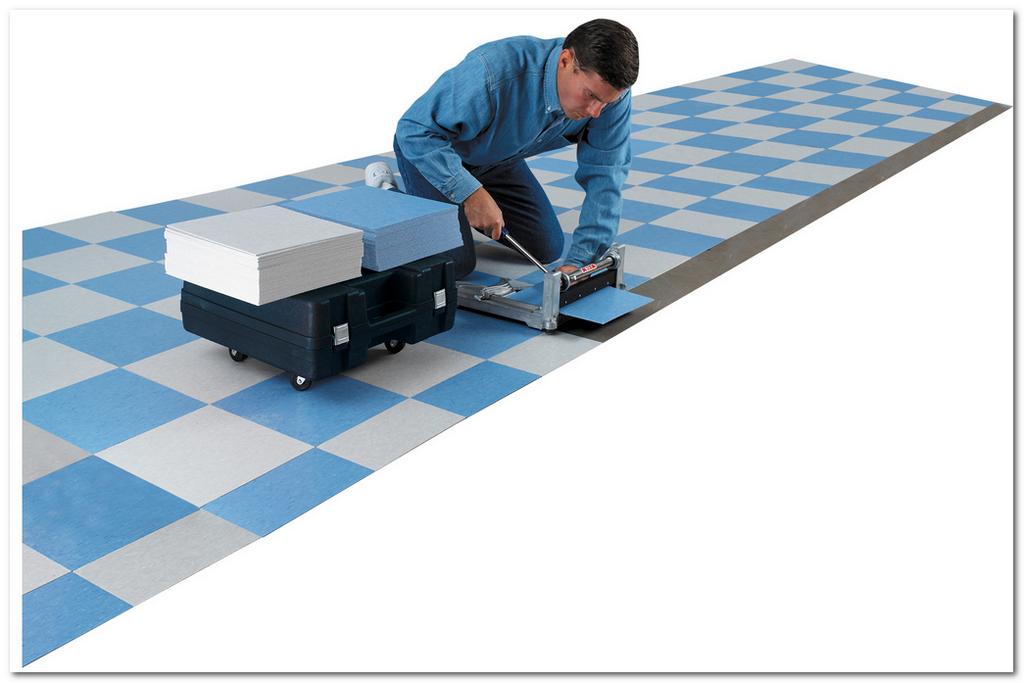 Виниловая плитка, как замена классической плитки