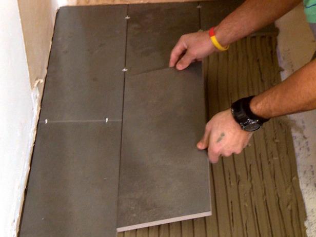 Укладка гранитной плитки на клей