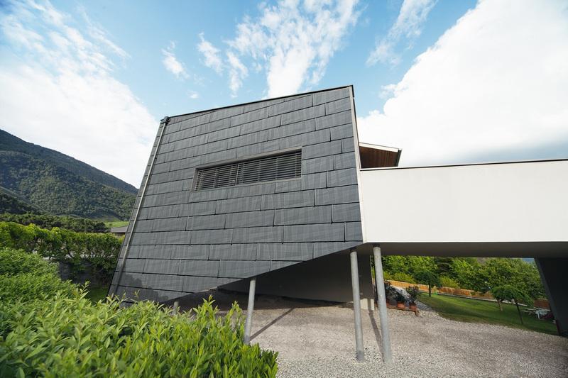 Облицовка фасада металлической плиткой