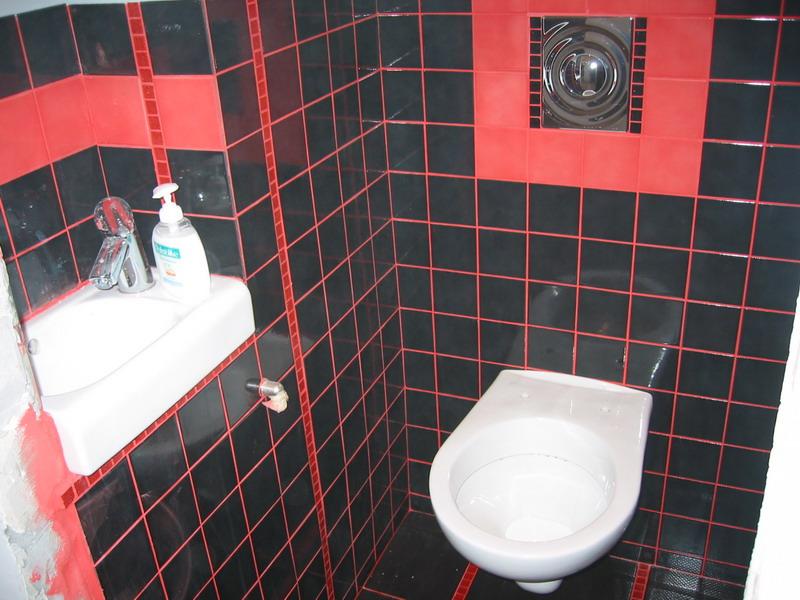 Красно-черная плитка