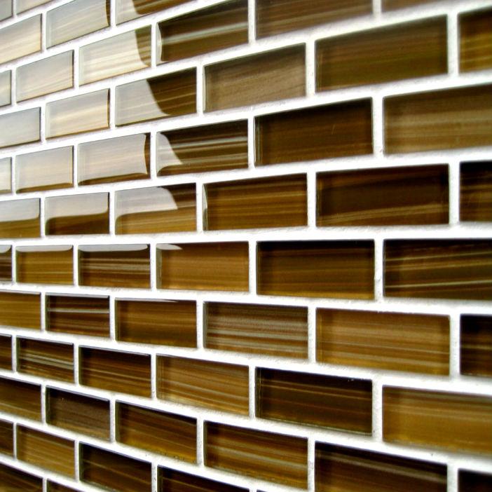 Стеклянные плитки для стен