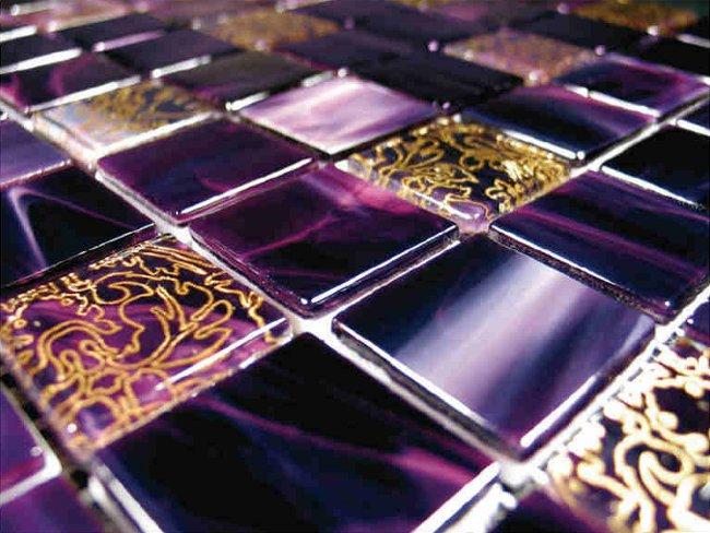 Плитка стеклянная мозаика