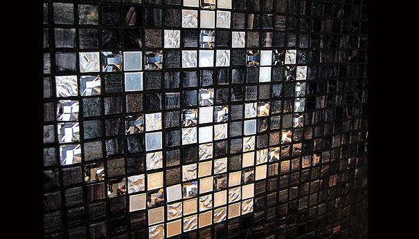 Зеркальная стеклянная плитка