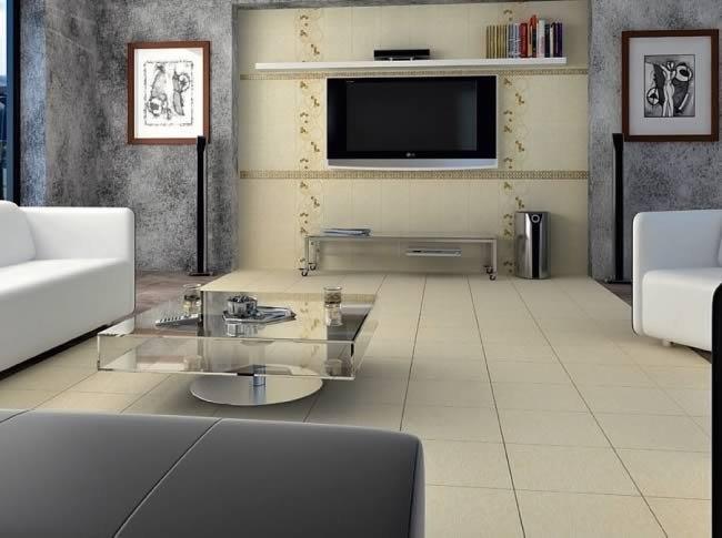 Дизайн с керамической плиткой
