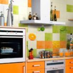 Кафельная плитка на кухню фартук