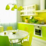 Интерьер кухни плитка