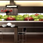Дизайн плитки на кухне