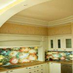 Керамическая плитка на кухню фартук фото
