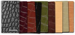 Образцы кожаной плитки