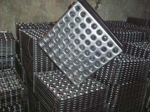 Металлическая плитка фото