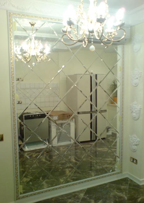 Зеркальная плитка для стен
