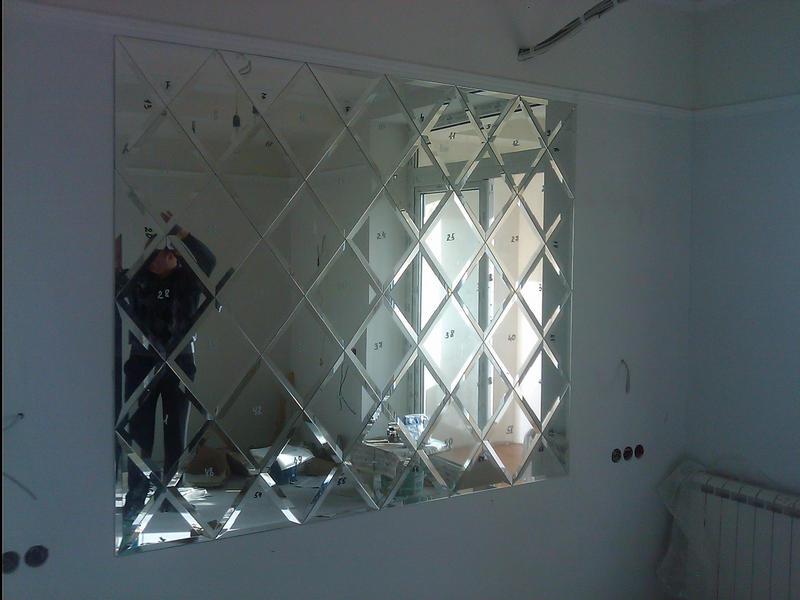Зеркальная кафельная плитка