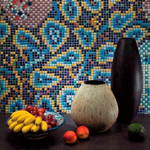 Плитка мозаика с красивым рисунком