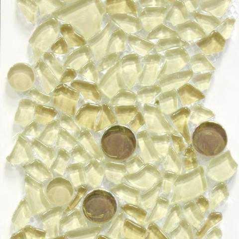 Прозрачное стекло мозаика