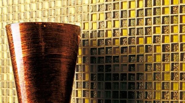 Плитка мозаика с желтизной