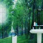 Дизайн ванной комнаты керамической плиткой