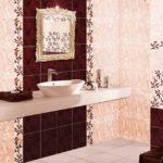 Образцы ванных комнат плитка фото