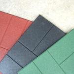Образцы цветов плитки из резиновой крошки