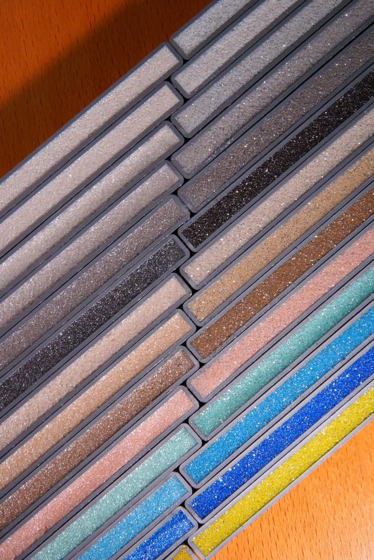 Цветовые гаммы затирки для плитки