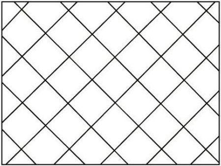 Раскладки плитки по диагонали