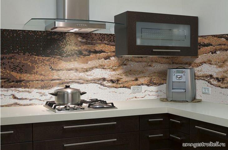 фотоплитка на фартуке (кухня)