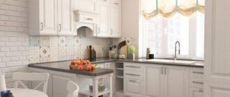 Кафель на кухню: фартук