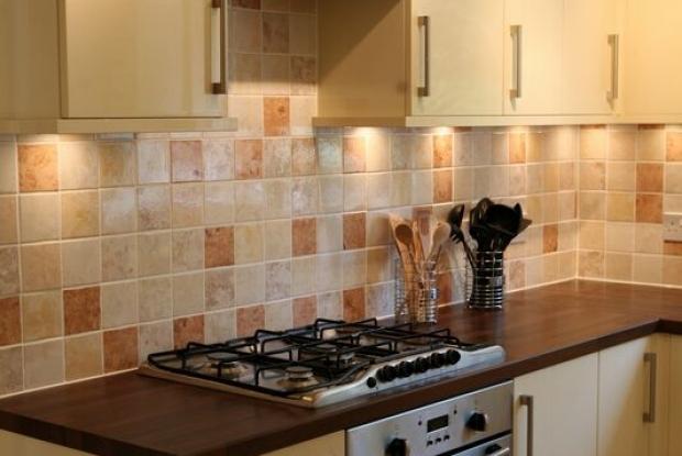 Как сделать фартук из плитки для кухни своими руками