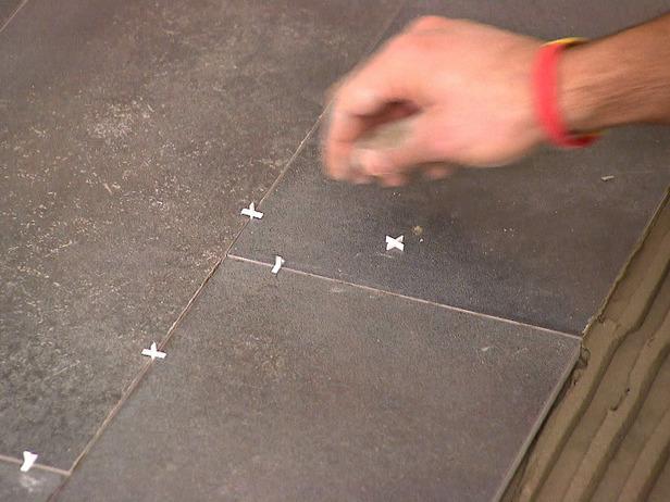 Clean floor tile grout