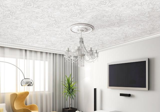 плитка потолочная в интерьере фото