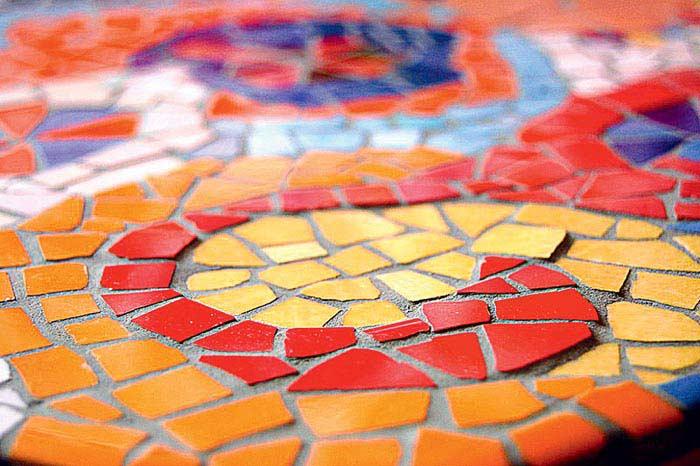 Мозаичная плитка своими руками фото