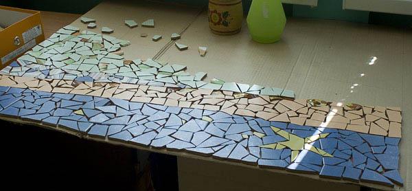 Купить битую керамическую плитку