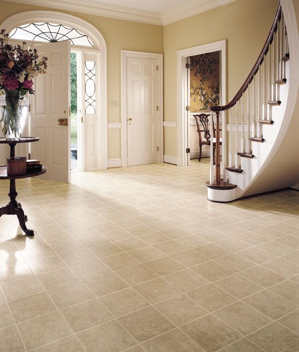 Ceramics floor tiles