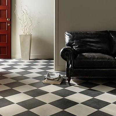 Черно-белая плитка дизайн фото