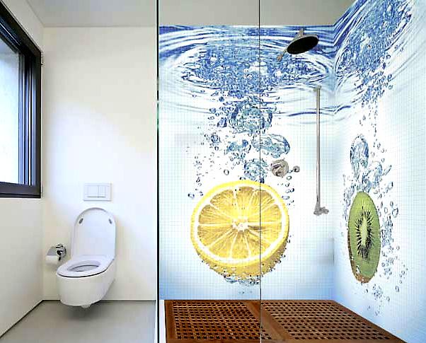 Рисунки для ванной комнаты дизайн